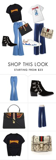 """""""A/W 16/17 FIRE & LOOSE FIT"""" by victoriabenedicte on Polyvore featuring STELLA McCARTNEY, Toga, Gucci and Juicy Couture"""