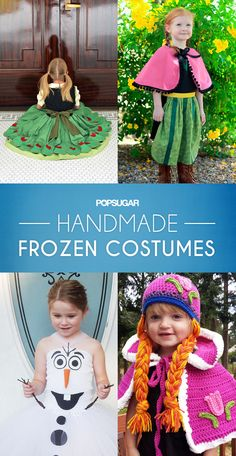 Adorable Handmade Frozen Costumes Worth Melting For