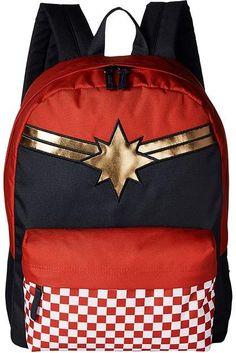 0da7121287 Vans Captain Marvel Realm Backpack Backpack Bags Captain Marvel