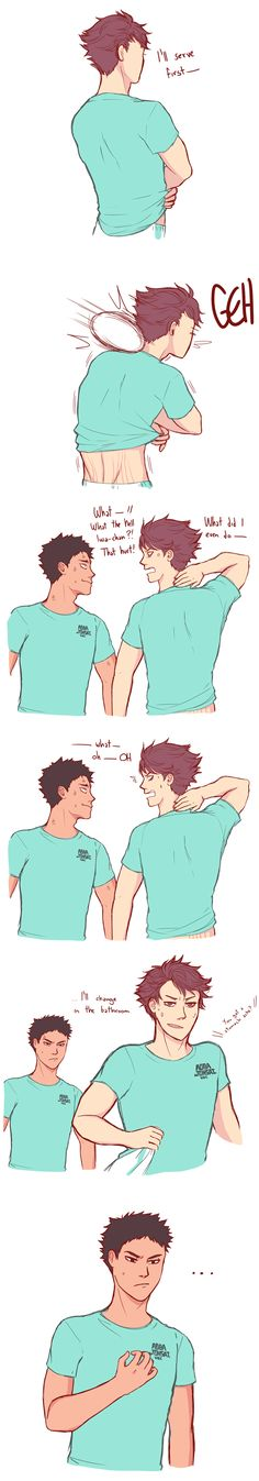 morning iwaoi pt. 2 by deads-on|| Iwaizumi and Oikawa | Haikyuu