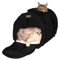 Mjuk kattbur som kan delas av på mitten. Sturdibag är stadiga mjuka transportväskor till din katt för flygresor & bilresor. Sturdibags uppfyller in-cabin måtten på de flesta flygbolag - de är supersnygga, lätta & funktionella kattväskor av riktigt bra kvalité!