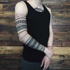 man armband tattoo sleeve - Google zoeken