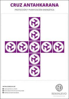 En unas horas compartiremos esta cruz #Antahkarana de protección y purificación energética para descargar.