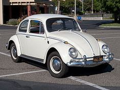 The Vokswagen Type 1 or Beetle/Bug, brought to NY.  Only 2 1949 model will be sold in America that year.