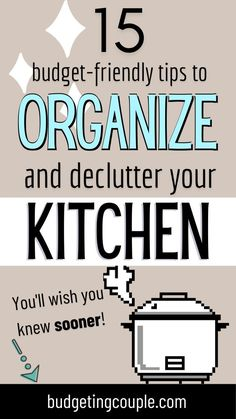 Declutter Home, Declutter Your Life, Organizing Your Home, How To Keep Organized, Getting Organized, Kitchen Cabinet Organization, Organization Hacks, Organizing Ideas, House Cleaning Tips