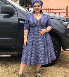 Beautiful Shweshwe Dresses 2019 Shweshwe Dresses 2019 - This Beautiful Shweshwe Dresses 2019 photos was upload on February, 29 2020 by admin. Here latest Shweshwe Dresses 2019 photos. Seshweshwe Dresses, Latest African Fashion Dresses, African Inspired Fashion, African Dresses For Women, African Print Fashion, African Attire, African Women, African Print Dress Designs, African Print Dresses
