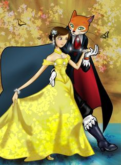 """I do not own Baron Humbert von Gikkingen, Haru, or any of the characters from """"The Cat Returns"""". I am just an insignificant insect that is just a fan. Baron+Haru 'Shall we Dance? Neko, Funny Toons, Romantic Dance, The Cat Returns, Partner Dance, Shall We Dance, Howls Moving Castle, Epic Art, Hayao Miyazaki"""