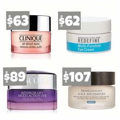BEST.EYE.CREAM EVER! And good news it's not the most expensive! #1 Anti-Aging products in the U.S! Preferred Customers get discounts! Msg me to find out how? Msmith@smithbunch.org Michellefsmith.myrandf.com