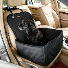 Nakrycie na fotel do przewozu psów
