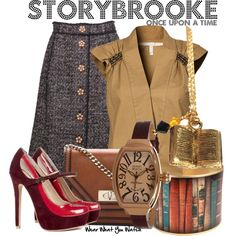 Inspired by the fictional town of the Storybrooke from the TV series Once Upon a Time.