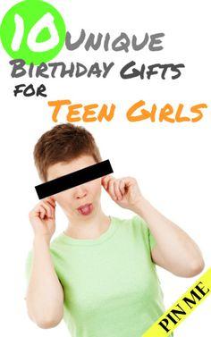 Birthday Presents for Teenage Girls