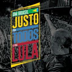 É HOJE!! Mais que um Brasil justo para Lula. Um Brasil justo para todos. Acompanhe, divulgue, compareça, participe! #UmBrasilJusto /   Um Brasil justo Sem perseguição política disfarçada de combate à corrupção, onde os brasileiros tenham o direito de escolher mais inclusão social e desenvolvimento. Brasil justo pra todos | Um Brasil justo pra todos e pra Lula -  #PelaDemocracia #PelaJustiça #PelaInclusão #PorUmBrasilPraTodos