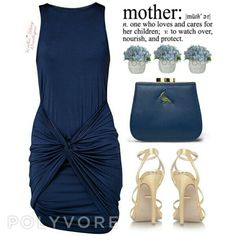 Wrapped in blue at katiemayboutique.com