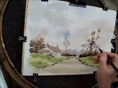 ▶ a simple watercolor with Alan Owen - YouTube