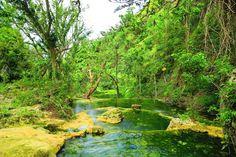 The Mele Cascades outside Port Vila, Vanuatu