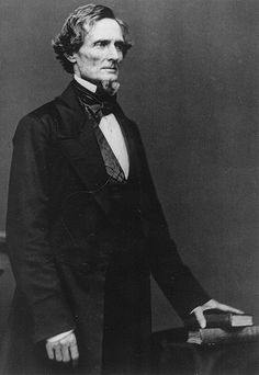 A portrait of the only President of the Confederate States of America . . . Mr. Jefferson Davis. Jefferson Davis was born on this day (June 3rd) in the year 1808.