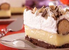 """Se você adora chocolate, então a <a href=""""http://mdemulher.abril.com.br/culinaria/receitas/receita-de-torta-bombom-sonho-valsa-560123.shtml"""" target=""""_blank"""">torta de bombom Sonho de Valsa®</a> vai valer cada uma das 720 calorias."""
