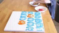 Spring Art: Make Produce Prints | eHow