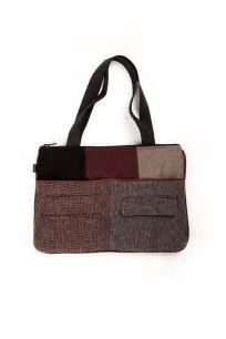 Image result for handmade purses from upcycled wool coats and jackets