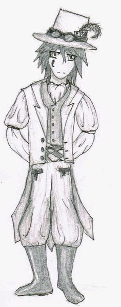 This is Vincent Card. Please give credit if repinning. I am Xadodragon@deviantart.com. Vincent is a thief and a leader of a guild, but also a gentleman. So, even though he may steal you blind, he will always leave a thank you note and his calling card, a jack of spades.
