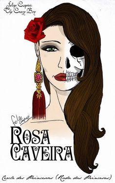 Rosa Caveira