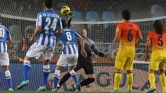 Valdés, FC Barcelona | Real Sociedad 3-2 FC Barcelona. [2013-01-19]