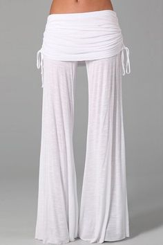 Cheap pants beach, Buy Quality pants fall directly from China pants cat Suppliers: ZANZEA Women 2017 Summer Fall Elastic Waist Pleated Loose Comfortable Wide Leg Long Pants Casual Solid Trousers Plus Size Cute Fashion, Fashion Outfits, Style Fashion, Fashion Trends, Young Fabulous And Broke, Comfy Pants, Casual Pants, Women's Pants, Culottes