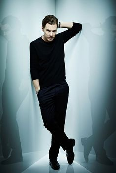 Benedict Cumberbatch ...not my usual celeb crush but his voice and superb acting do the trick...