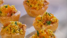 Citrus Couscous Cups I love tiny finger foods. Thanks Giada De Laurentiis for doing this recipe! Side Recipes, Great Recipes, Favorite Recipes, Healthy Recipes, Giada De Laurentiis, Recipes Appetizers And Snacks, Appetizers For Party, Elegant Appetizers, Pinterest Recipes