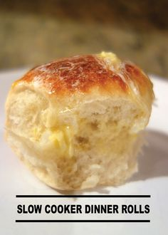 Making dinner rolls has never been so effortless with this easy Slow Cooker Dinner Rolls recipe! Pin and save for your next family dinner!