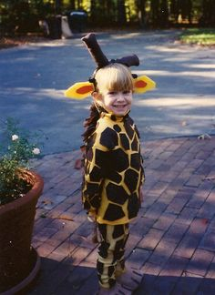 My all time favorite Halloween costume. So why didn't she like it?