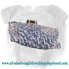 Easy To Carry #Bite #Tug with Small Loop for #English #Bulldog $4.90 | www.all-about-english-bulldog-dog-breed.com