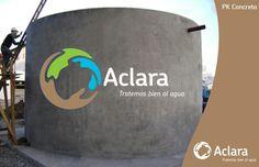 planta de tratamiento de agua residual también en concreto. Para mas información visita http://aclara.mx
