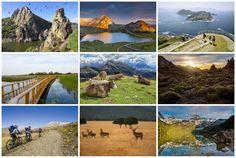 Celebramos el día europeo de los espacios verdes con imágenes espectaculares