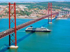 Rio Tejo/Tagus River, separating Lisbon from Almada, Portugal.  I used to cross this river daily by boat, by train and by car.