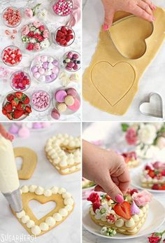 Trendy Cream Tarts are all the rage! Also known as cream biscuits or cream cakes- Trendy Cream Tarts are all the rage! Also known as cream biscuits or cream cakes Trendy Cream Tarts are all the rage! Also known as cream biscuits or cream cakes… - Cream Biscuits, Cookies Et Biscuits, Sugar Cookies, Meringue Cookies, Food Cakes, Cupcake Cakes, Baking Cupcakes, Decorate Cupcakes, Fruit Cakes
