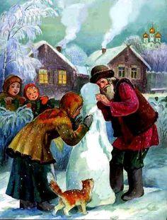 Снегурочка (русская сказка)