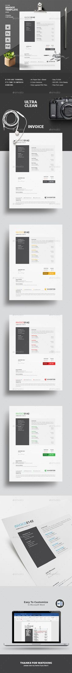 Invoice Best Proposals, Stationery and Quotation format ideas - Download Invoice