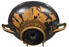1 This beautiful Attic red-figure cup, signed by Euphronios and painted by his pupil Onesimos during the years