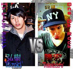 The brothers of Morita_takahiro (one ok rock) & hiroki (my first story)  LOVE THEM BOTH!!!! FANGIRL SCREAM!!!!!!