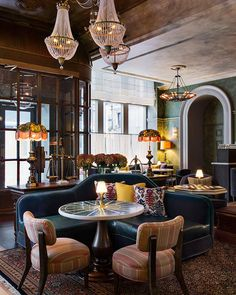 Greatness and elegance of Beekman hotel in New York #hotel #design #decor #style #inspiration #cool