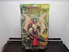 Legacy of Kain Soul Reaver Lieutenant RAZIEL Action Figure NIB New in Box Sealed #BlueBox