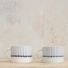 Iba Ceramic Indigo Mug