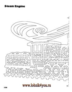 Художественное выпиливание .:. Classic Fretwork Scroll Saw Patterns (Sterling 1991 год)_137
