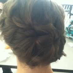This braid I did on my friends hair turned out pretty
