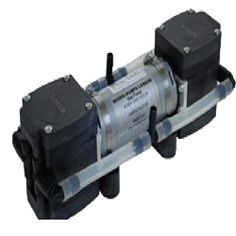 Diaphragm Pump Boxer 7KQ Series.Gas Flow Rate to 62 l/m.The use of high performance plastics in the 7KQ Series Diaphragm Pumps facilitates use in high temperature applications such as combustion gas analysis. The overall construction is extremely robust.