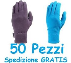 50 PAIA Lotto Guanti Invernali Termici sotto casco sci snowboard bici moto cross e Stock.  SPEDIZIONE GRATIS