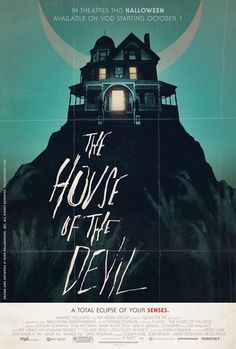 The House of the Devil (Ti West, 2009) Design by Kellerhouse, Inc