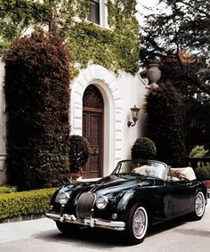 "1950sbeautifulyears: "" Jaguar XK 150 Drophead Coupe """