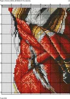 I'm not sure where this is from, but what a beautiful pattern! Cross Stitch Pictures, Cross Stitch Love, Cross Stitch Charts, Cross Stitch Designs, Cross Stitch Patterns, Cross Stitching, Cross Stitch Embroidery, Borboleta Crochet, Bordados E Cia